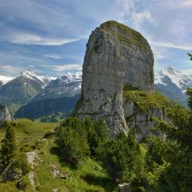 Schynige Platte, Švýcarsko
