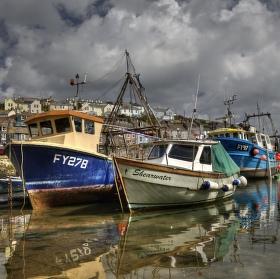 """""""Cornwallský přístav"""""""