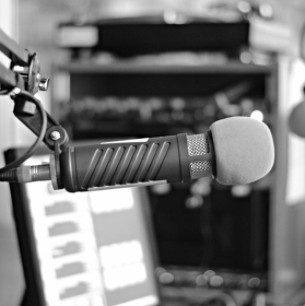 Osamělý mikrofon