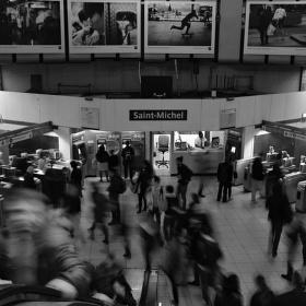 Saint-Michel station