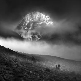 posvátná hora Kailás