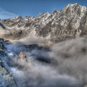 Mlynická dolina z Predného Soliska