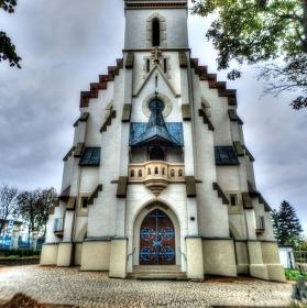 Fisheye Kostel Tvarožné
