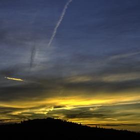Východ slunce nad Barvičovou