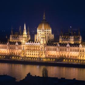 Országház - maďarský parlament