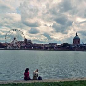 Nábřeží v Toulouse