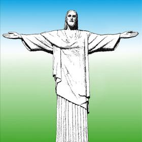 Rio de Janeiro - Socha Krista