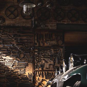 Pořádek v garáži