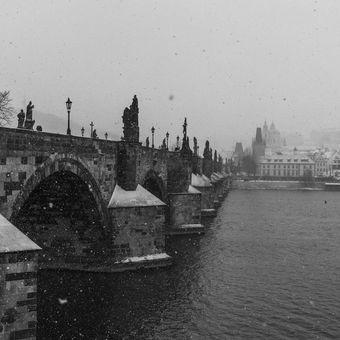 Pražská klasika mostová zimní