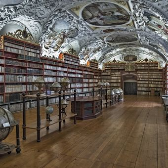 Strahovská knihovna - Teologický sál