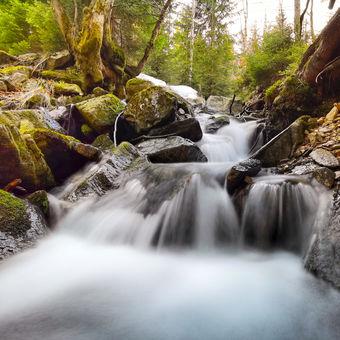 Vodopády Kralickeho Sněžníku