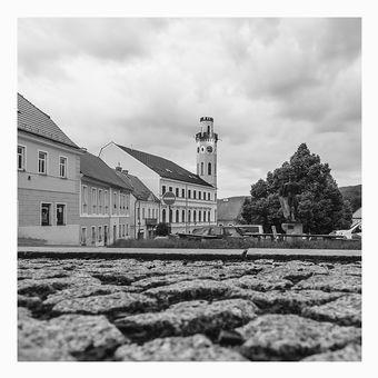 Náměstí v Klášterci nad Ohří