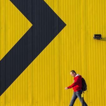 žlutá, černá, červená