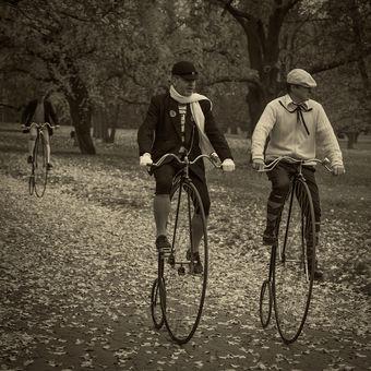 Bikeři z minulého století