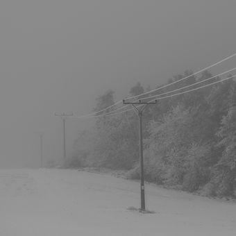 Mlha v Žebětíně