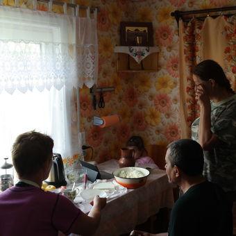 pohostinnost běloruské domácnosti