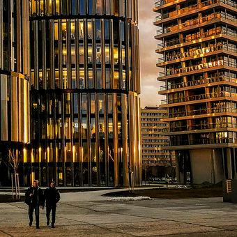 Golden V Tower