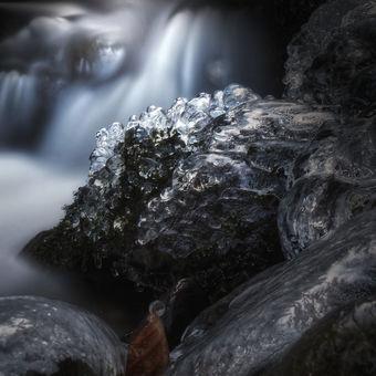 Zimní na potoce Mohelnice