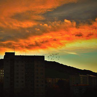 Dnešní podzimní svítání
