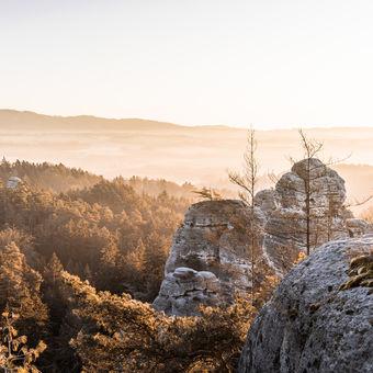 Ráno v Českém ráji