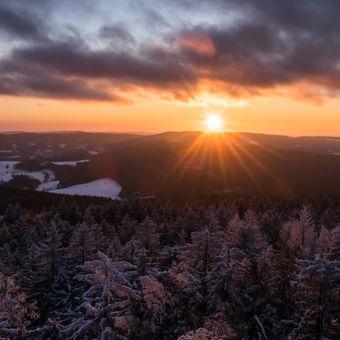 zima v Adršpaško-Teplických skalách ❄