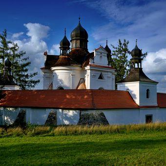barokní kostel Nejsvětější Trojice v Trhových Svinech