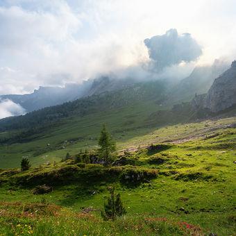 Na potulkach  v Dolomitoch