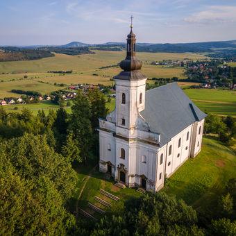 Kostel Panny Marie Pomocné - Uhlířský vrch