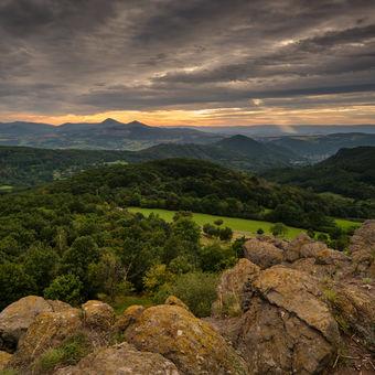 Podvečer na Holém vrchu