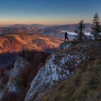 Ráno na Folkmarskej skale