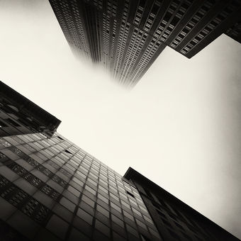Gotham City V.  (Manhattan in the fog)