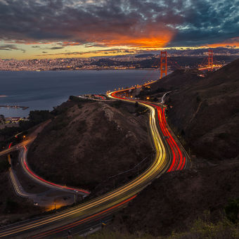 Twilight Golden Gate