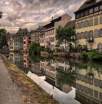 Štrasburgské zrcadlení