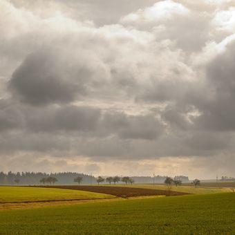 Podzimní krajina Poličska