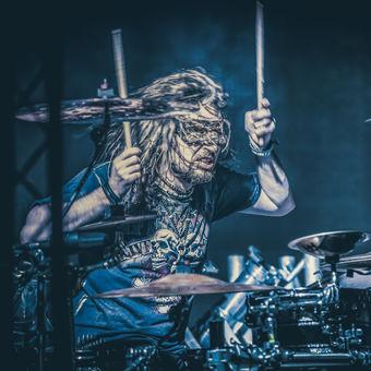 Brutal drummer