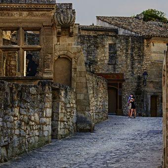 Když turisté odejdou z Les Baux de Provence