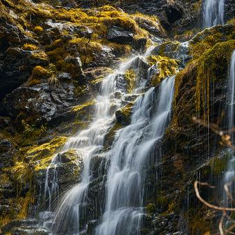 Jeseníky Vysoký vodopád