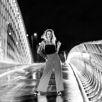 Vanessa večer v dešti
