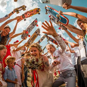 Nejlepší skateboardová svatba v ČR