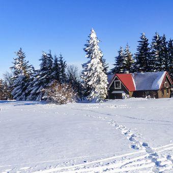 Zima na Šerlichu....(Orlické hory)
