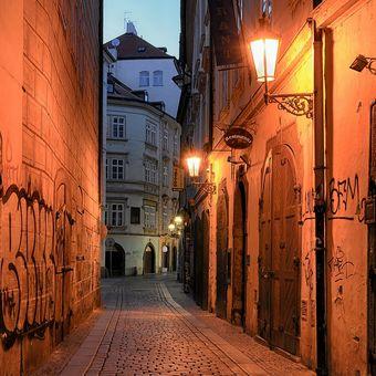 Podvečer staroměstský