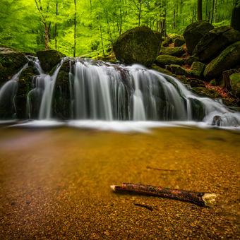 Vodopád Malý Štolpich