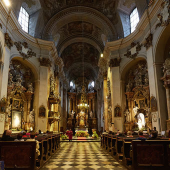 Noc kostelů - kostel sv. Janů