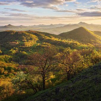 Krajina nesčetných kopců