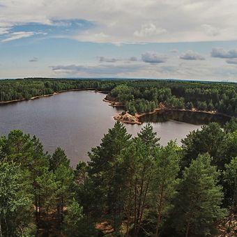 Jezero Afryka v Polsku