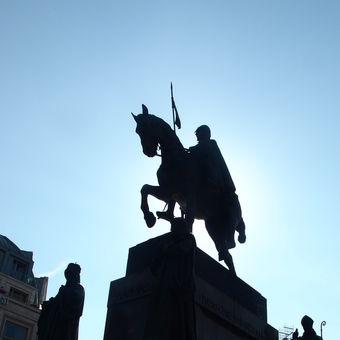 Praha ráno
