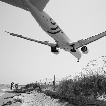 Přistání v Larnace