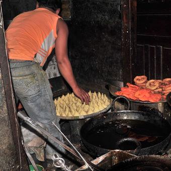 Kuchyně na ulici
