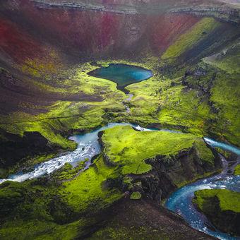 Islandské vnitrozemí