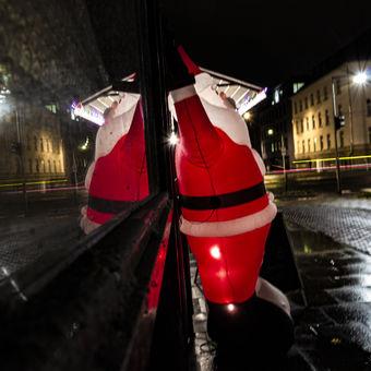 Listopadový Santa